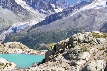 La Fôret des Tines à Chamonix